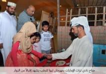جناح نادي تراث الإمارات بمهرجان ليوا للرطب يشهد إقبالاً من الزوار