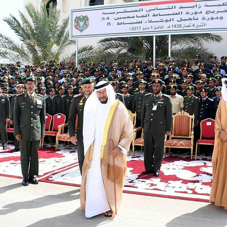 تخريج كلية زايد العسكرية لدفعة من العسكريين