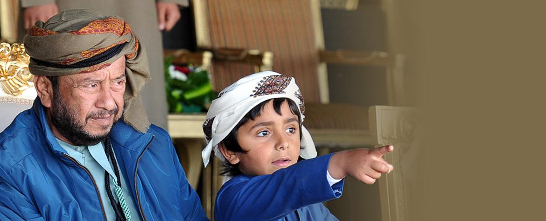 صورة سمو الشيخ سلطان بن زايد آل نهيان في مهرجان سويحان